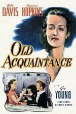 Watch Old Acquaintance Online Alluc